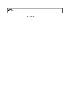 Valentine Party Behavior Expectations Chart