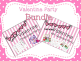 Valentine Party Bundle - Prepositions and Wh-Questions