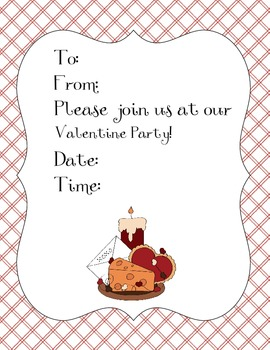 Valentine Party Event Pack