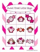 Valentine Party Games featuring Literacy and Math Concepts