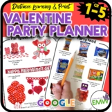 Valentine's Day Math Activity Party Planning Project Google PowerPoint