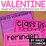 Valentines Day Party Printables and Activities