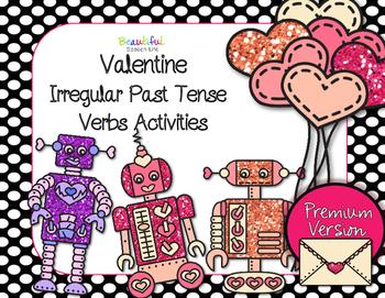 Valentine Past Tense Irregular Verbs for Speech Language Therapy