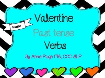 Valentine Past Tense Verbs