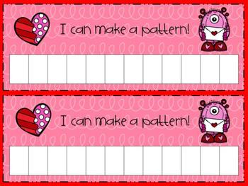 Valentine Pattern Mat