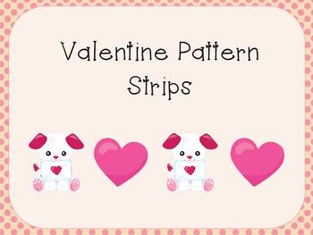 Valentine Pattern Strips
