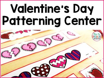Valentine Patterning FREEBIE