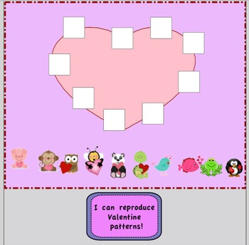 Valentine Patterning & Sorting