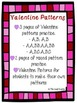 Valentine Patterns