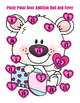 Valentine Pauly Polar Bear Roll and Cover - Addition - 3 Dice