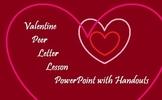 Valentine Peer Letter Lesson