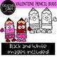 Valentine Pencil Buds: Valentine Clipart {Creative Clips Clipart}