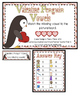 Valentine Penguin Vowels Literacy File Folder Game Short C