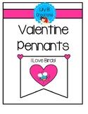 Valentine Pennants