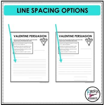 Valentine Persuasion Writing