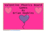Valentine Phonics Board Games