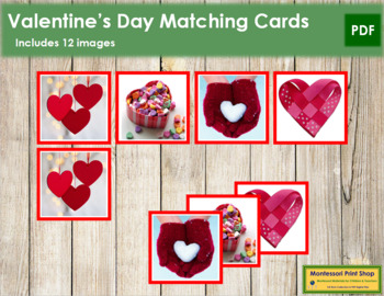 Valentine's Day Matching Cards