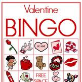 Valentine Picture Bingo (Classroom Set of Boards)