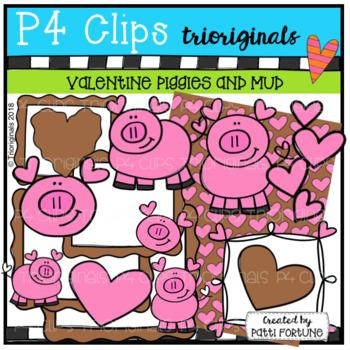 Valentine Pigs (P4 Clips Trioriginals)