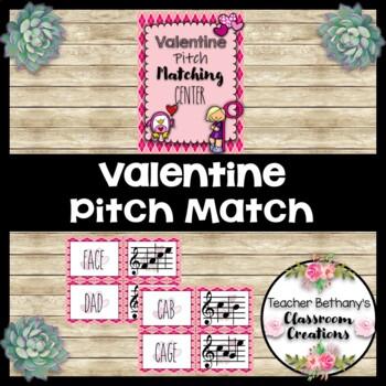 Valentine Pitch Matching