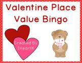 Valentine Place Value Bingo