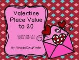 Valentine Place Value Blocks