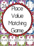 Place Value Valentine Match Up