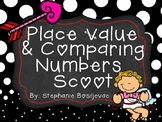 Valentine Place Value and Comparing Numbers (Ones, Tens, Hundreds)