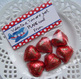 Valentine Plane Large Treat Bag Toppers