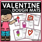 Valentine Play Dough Mats Activities