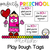 Valentine Play Dough Tags