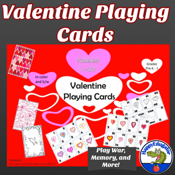 Valentine Playing Cards