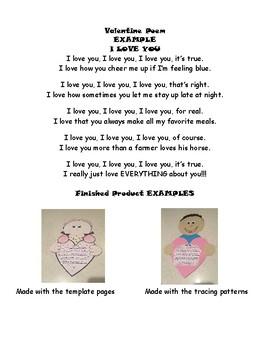 Valentine Poem Craftivity