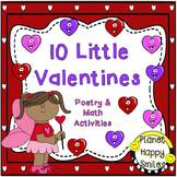 Valentine Poem and Math Activities ~ 10 Little Valentines