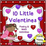 Valentine Poem and Math Activities ~ 10 Little Valentines