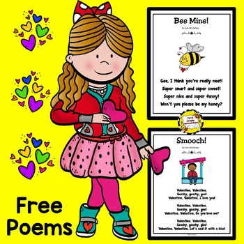 https://www.teacherspayteachers.com/Product/Valentine-Poems-Freebie-4370458