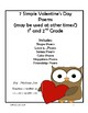 Poetry Writing for 1st and 2nd Grade Valentine Theme