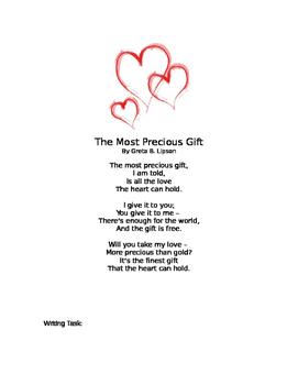 Valentine Poetry Persuasive Essay Prompt