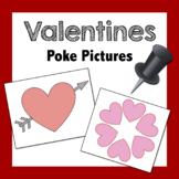 Valentine Poke Pictures: Fine Motor Activity