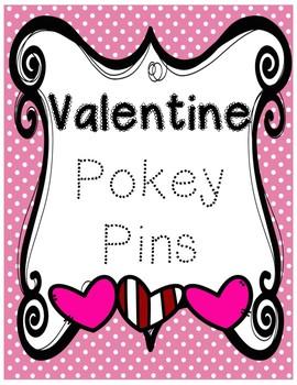 Valentine Pokey Pins