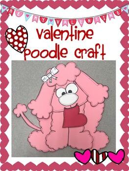 Valentine Poodle Craft