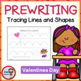 Valentine Pre-Writing Tracing Practice