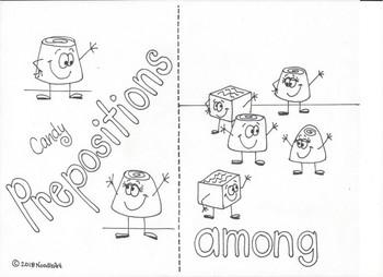 Valentine Preposition Mini Posters, Mini Book and More