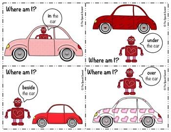 Valentine Prepositions