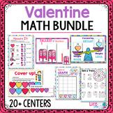 Valentine Preschool Math Activities: 20+ Centers