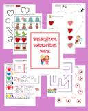 Valentine Preschool Pack
