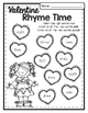 Valentine Print & Go ELA Printables