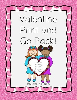 Valentine Print and Go Pack!