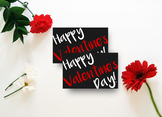 Valentine Printable, Party Tags, Classroom Party - Valentine Gift Tags V1