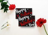 Valentine Printable, Party Tags, Classroom Party - Valentine Gift Tags V2